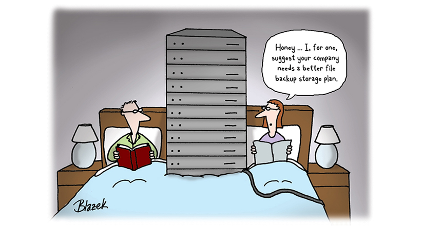 backup storage plan outdated